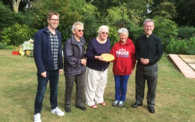 Stowmarket Parish wins its Live Simply Award!
